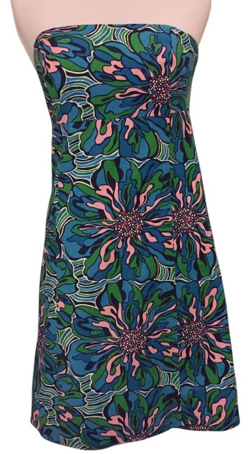 Preload https://item3.tradesy.com/images/lilly-pulitzer-blue-green-and-pink-bowen-rehearsal-above-knee-short-casual-dress-size-2-xs-13296082-0-1.jpg?width=400&height=650
