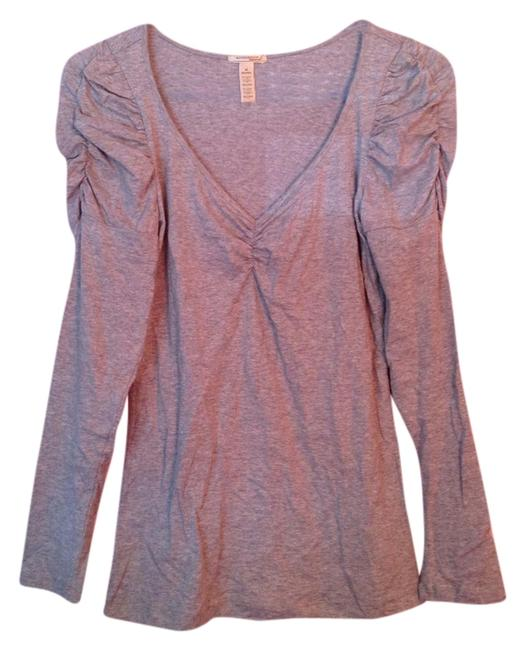 Ambiance Apparel Top Heather Grey