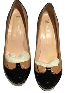 RED Valentino Nude and black Platforms