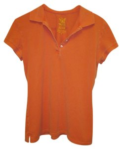 LuLu Pacific Sunwear Large Surf Button Down Shirt Orange