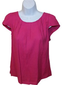Zara Workwear Essentials Top Pink