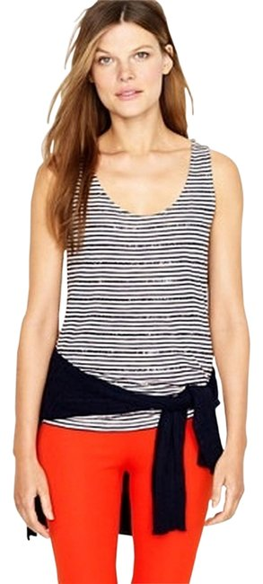 Preload https://img-static.tradesy.com/item/1330265/jcrew-yellowwhite-sequin-stripe-tank-topcami-size-2-xs-0-0-650-650.jpg