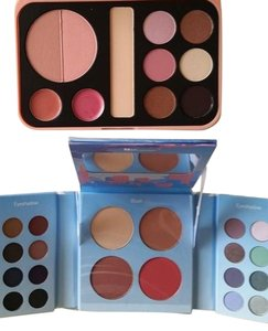 BH Cosmetics BH Cosmetics 2 Palletes Forever Nude and San Francisco Eyeshadow Blush Palette Free Shipping