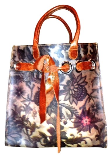Preload https://item1.tradesy.com/images/vintage-multicolor-pvc-and-leather-tote-1330475-0-0.jpg?width=440&height=440