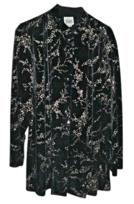 Preload https://item3.tradesy.com/images/r-and-m-richards-black-velvet-a-nancy-kwan-style-31897-description-high-neck-34-length-jacket-above--133057-0-0.jpg?width=400&height=650