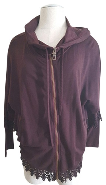 Preload https://item2.tradesy.com/images/xcvi-dark-maroon-zipper-cuff-lace-embellished-hooded-small-spring-jacket-size-6-s-13305811-0-1.jpg?width=400&height=650