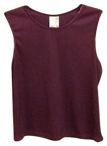 Allison Daley Petite Ribbed Comfortable Smooth Collar Office Cute Tank Tunic