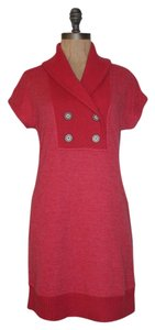 Free People short dress RED Fresh Pullover Stretchy on Tradesy