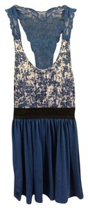 Derek Heart short dress Blue on Tradesy