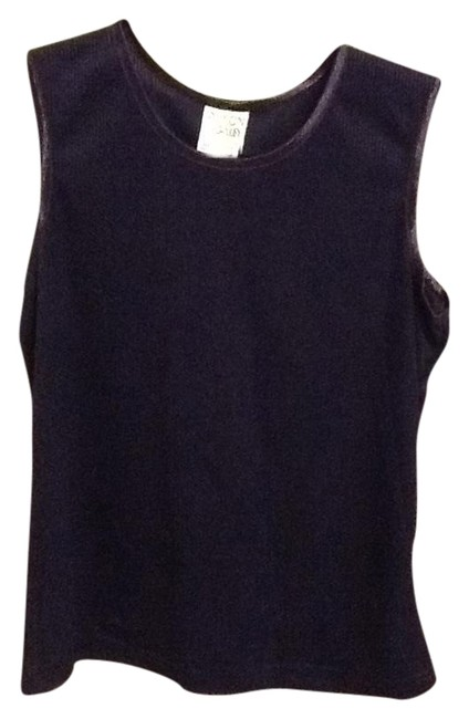 Allison Daley Ribbed Tank Office Comfortable Loose Fitted Cute Tunic
