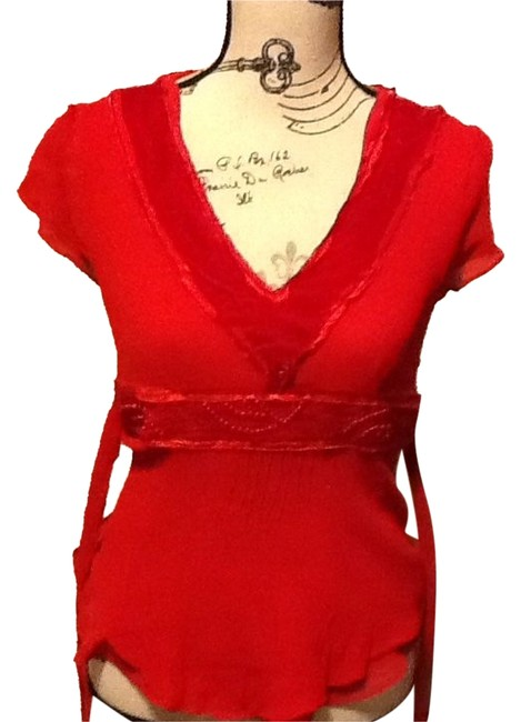 Preload https://img-static.tradesy.com/item/1330783/peter-nygard-fire-red-silk-beaded-v-neck-night-out-top-size-petite-12-l-0-2-650-650.jpg