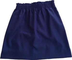 J.Crew Work Mini Skirt Blue