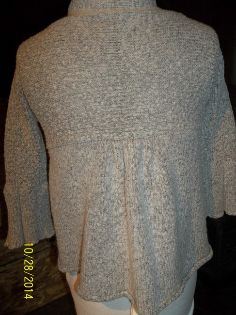 Wet Seal 3/4 Sleeve Shorty Heather Layer Cardigan
