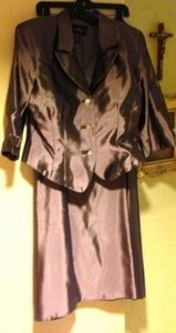 JS Collections Lilac Irredescent Acetate Formal Bridesmaid/Mob Dress Size 16 (XL, Plus 0x)