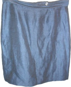 Casual Corner Skirt Royal Blue