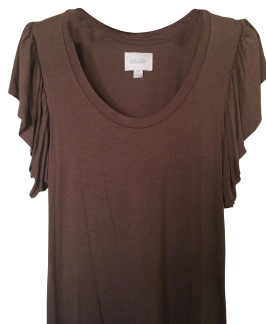 Preload https://item4.tradesy.com/images/deletta-dark-taupe-blouse-size-4-s-1331258-0-0.jpg?width=400&height=650