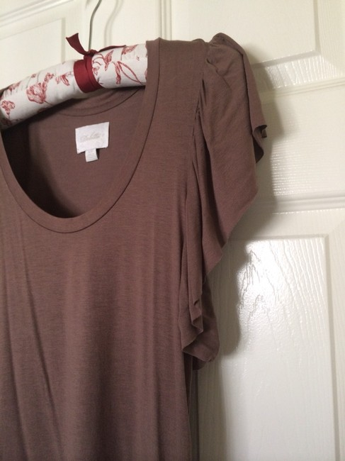 Deletta Top Dark Taupe