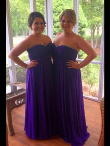 Mori Lee Purple 653 Dress
