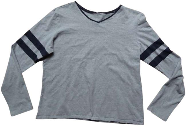 Gap T Shirt Gray / Navy Blue