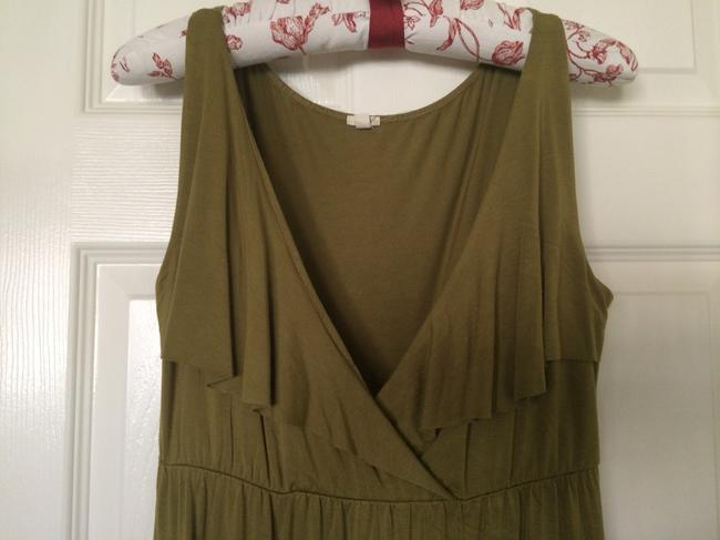 J.Crew short dress Olive Green on Tradesy