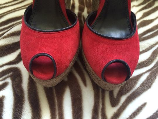 Theory Red & Black Wedges