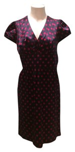Betsey Johnson short dress Navy With Red Dots on Tradesy