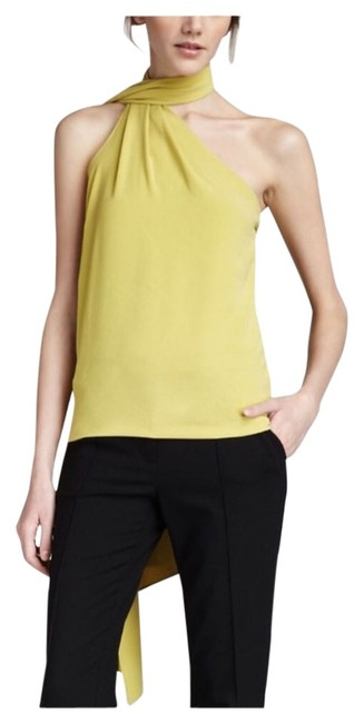 Preload https://img-static.tradesy.com/item/13314952/halston-yellow-chartreuse-heritage-one-shoulder-sash-night-out-top-size-0-xs-0-1-650-650.jpg