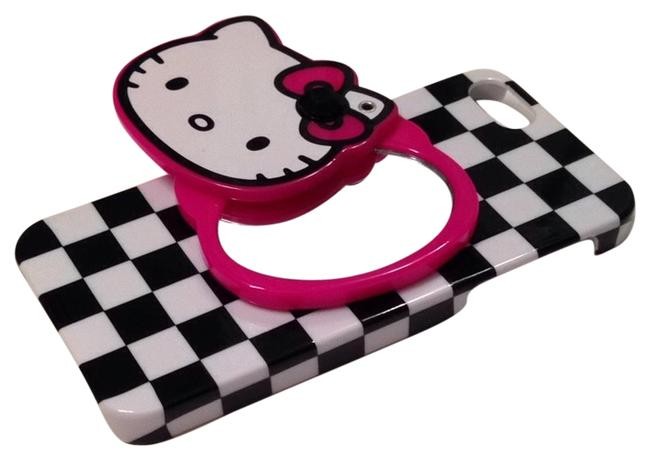 Item - Black/White/Pink Iphone 5 Case Tech Accessory
