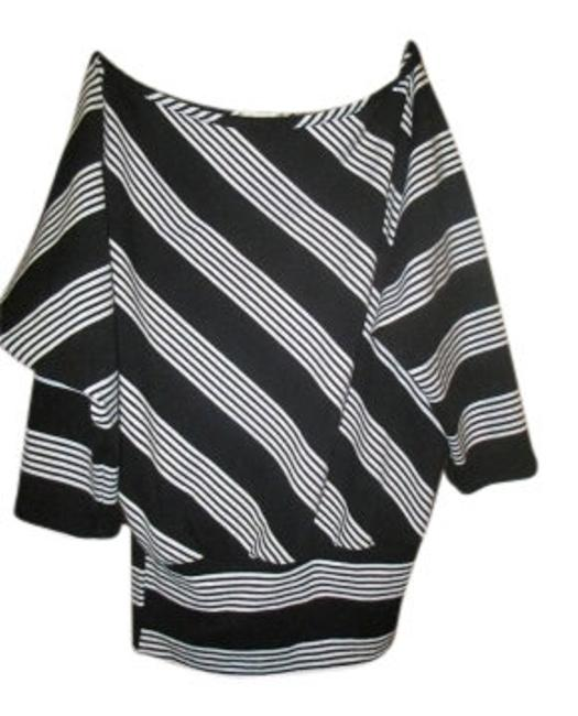 Preload https://item2.tradesy.com/images/charlotte-russe-black-and-white-vintage-inspired-blouse-size-4-s-13316-0-0.jpg?width=400&height=650