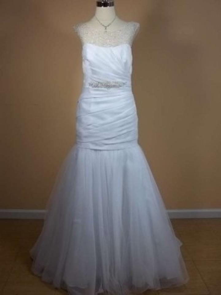 Alfred angelo 2298 wedding dress tradesy weddings for D angelo wedding dresses