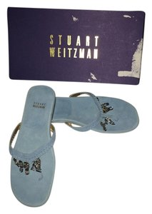 Stuart Weitzman light blue Sandals
