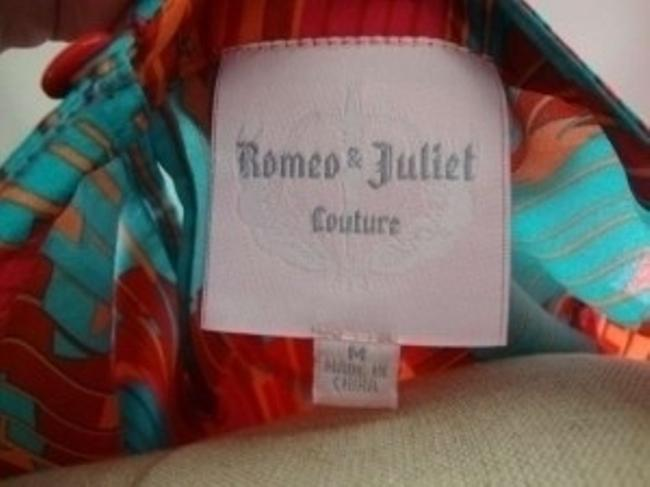 Romeo & Juliet Couture Top Multi-Color