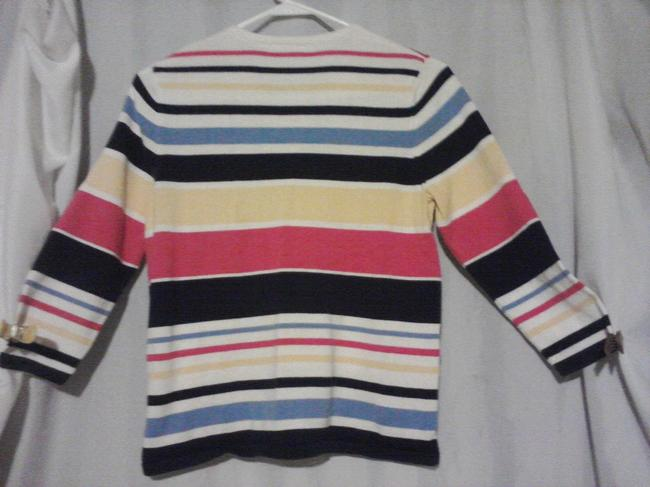 Croft & Barrow Top multi/ striped