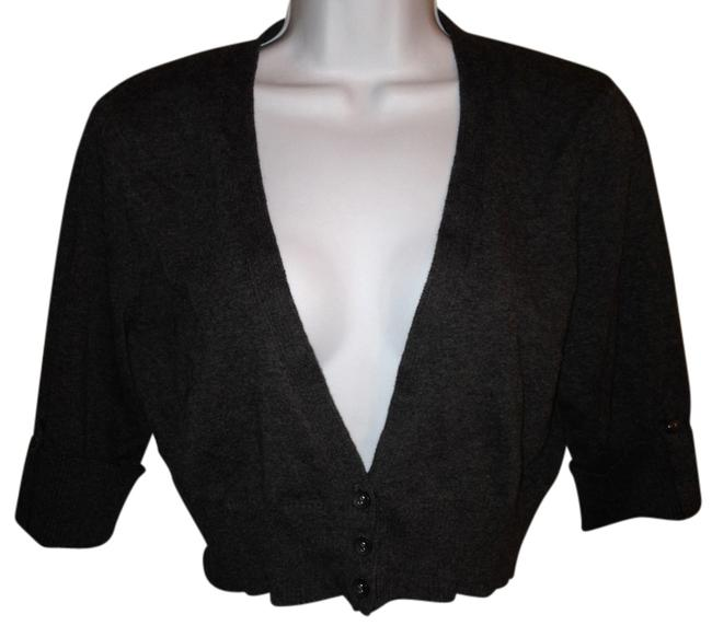 Charlotte Russe Cropped Crop Sweater Xl Extra Large Xlarge Cardigan