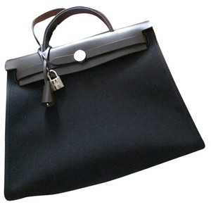 Herms Satchel in Black