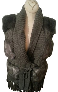 KIKIT Faux Fur Sweater Vest