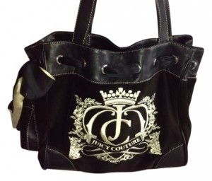 Juicy Couture Daydreamer Tote in Black/Brown/Cream