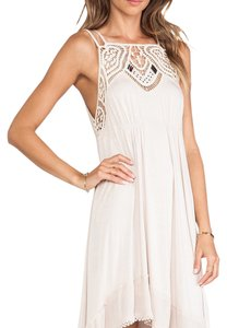 Free People short dress Tan on Tradesy