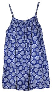 short dress Cotton Print Spaghetti Strap on Tradesy