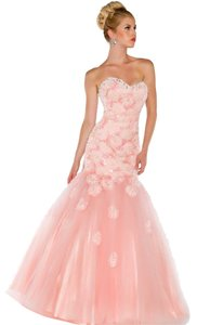 Mac Duggal Couture Strapless Dress