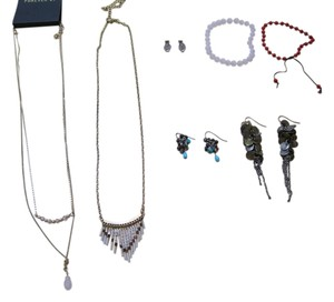 J.Crew Jewelry Set including J Crew, Forever 21, Urban Outfitters etc.