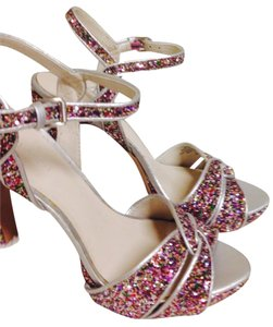 Nine West Multi color Platforms