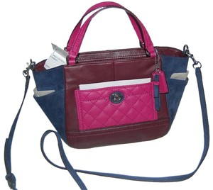 Coach Park Quilted Cross Body Bag