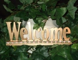 Silver Custom Welcome Sign For Eleanore E Other