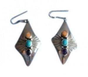Other Sterling silver stone earrings