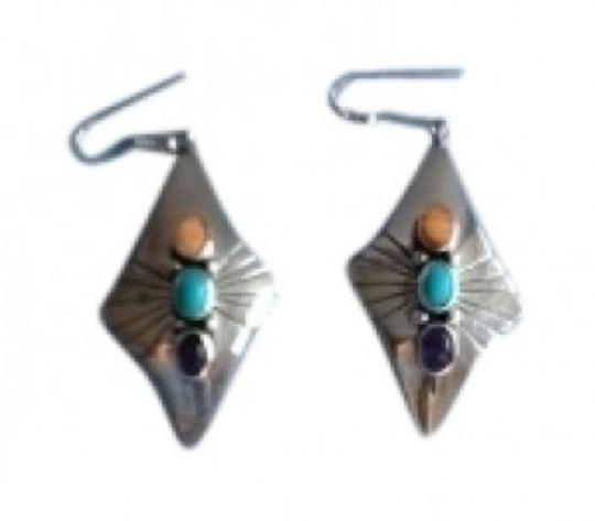 Preload https://item1.tradesy.com/images/sterling-silver-with-stones-earrings-133275-0-0.jpg?width=440&height=440