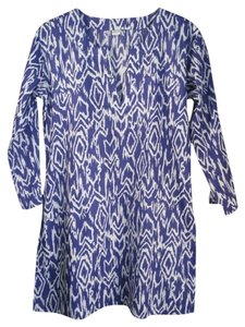 Condemned to Be Free Silk Ikat Print Tunic