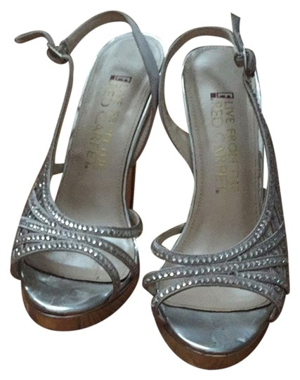 Preload https://item5.tradesy.com/images/e-live-from-the-red-carpet-silver-pumps-1332814-0-0.jpg?width=440&height=440