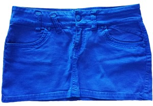 Other Mini Skirt Blue