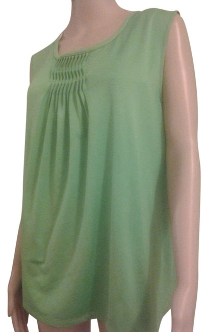 Maggie Barnes Plus Plus Size Top green